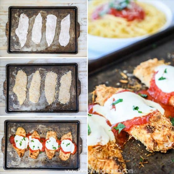 Easy Delicious Baked Chicken Parmesan