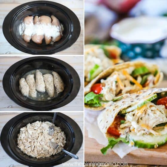 Crockpot Chicken Meal Ideas