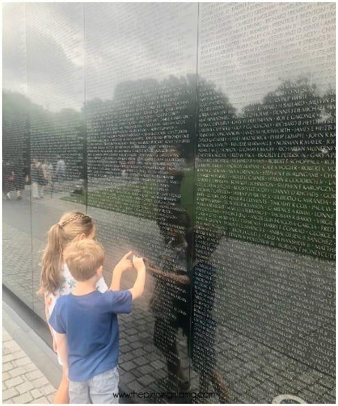 Vietnam Memorial Washington D.C.