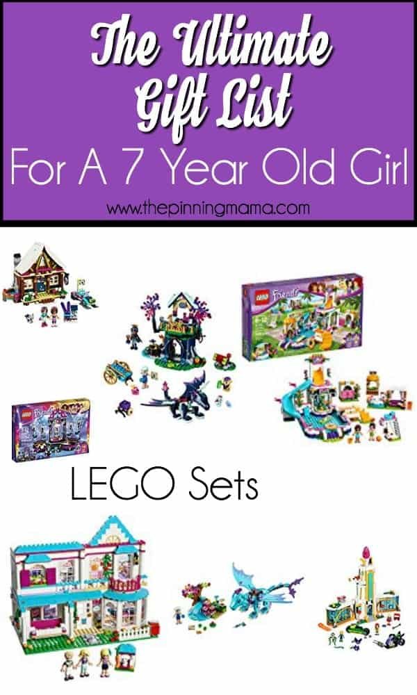 Gift ideas for a 7 year old girl, Lego sets