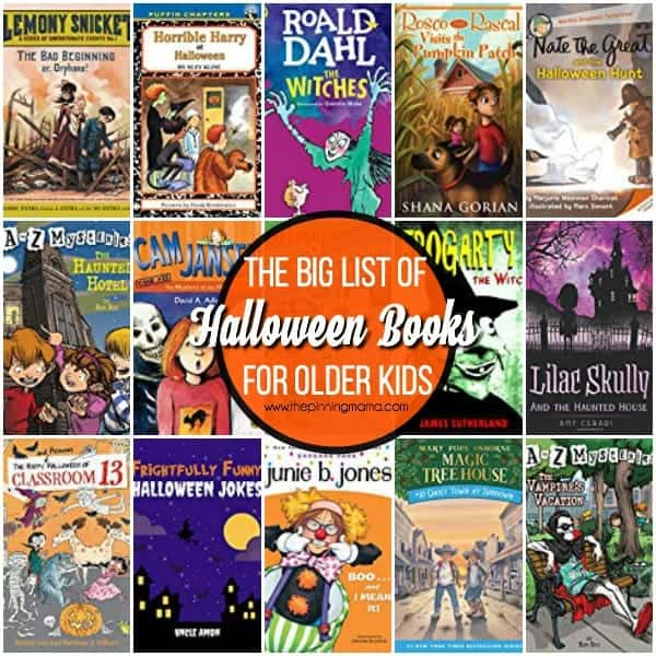 The Big List of Halloween Books for Older Kids