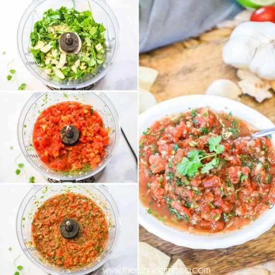 Quick and Easy Whole30 Salsa.