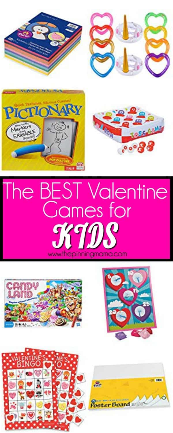 The BEST Valentine Games for kids.