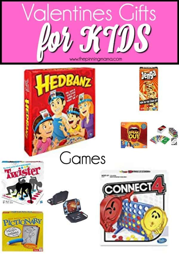 The Big List of Games to give to your family for Valentines Day