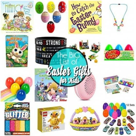 The BEST Easter Gift List for Kids