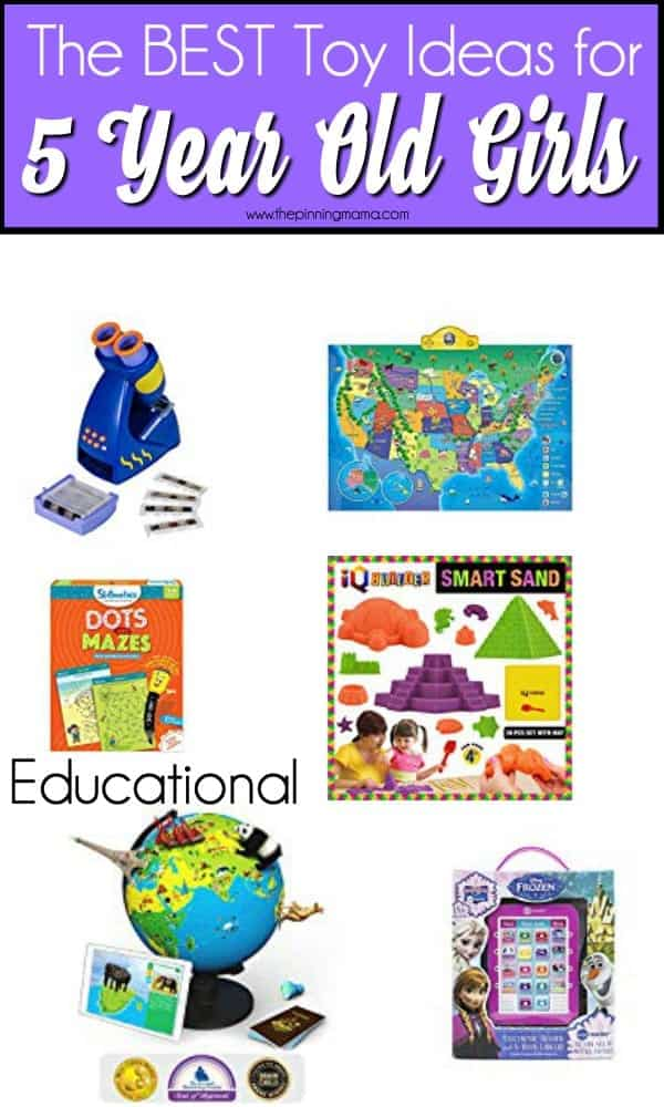 The BEST Educational toy for 5 year old girls.