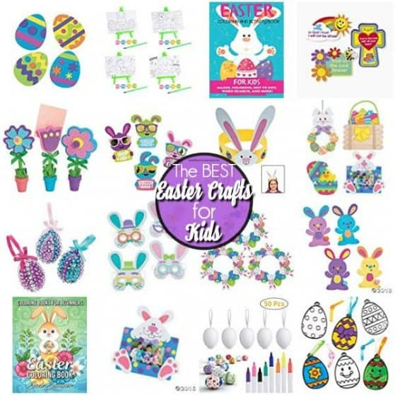 The BEST List of Easter Crafts for Kids