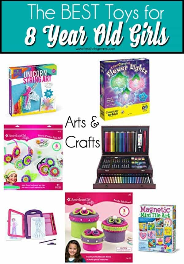 The BEST Arts & Crafts for 8 year old girls.