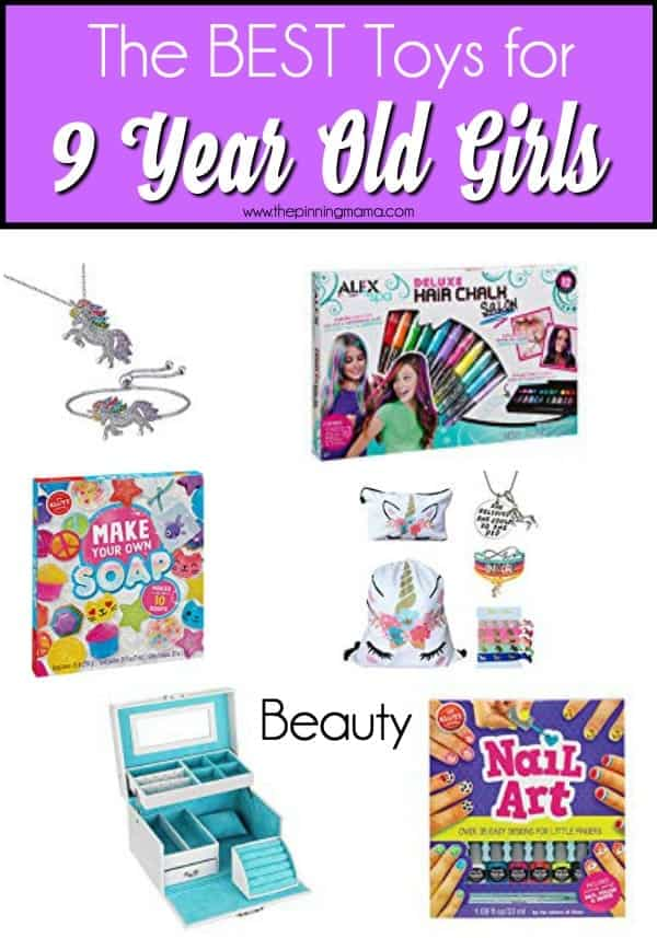 The BEST beauty products for 9 year old girls.