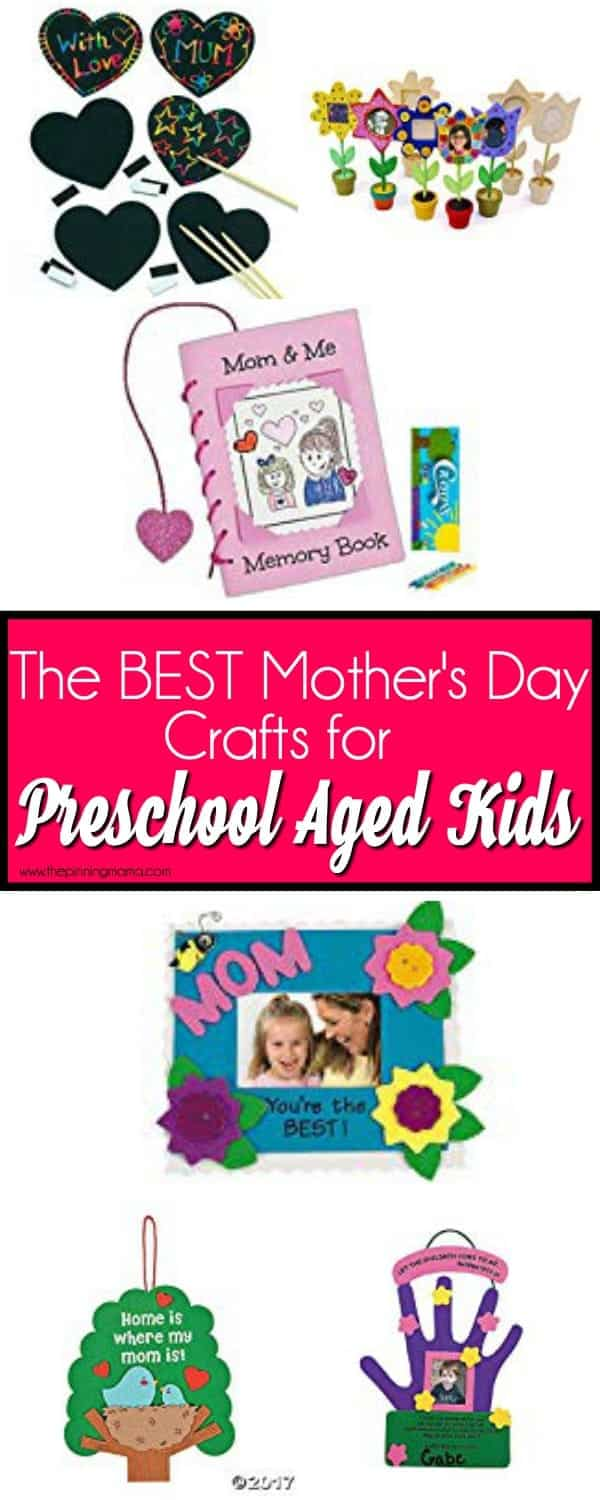 The BEST Mother's Day Crafts for Preschool Aged Kids
