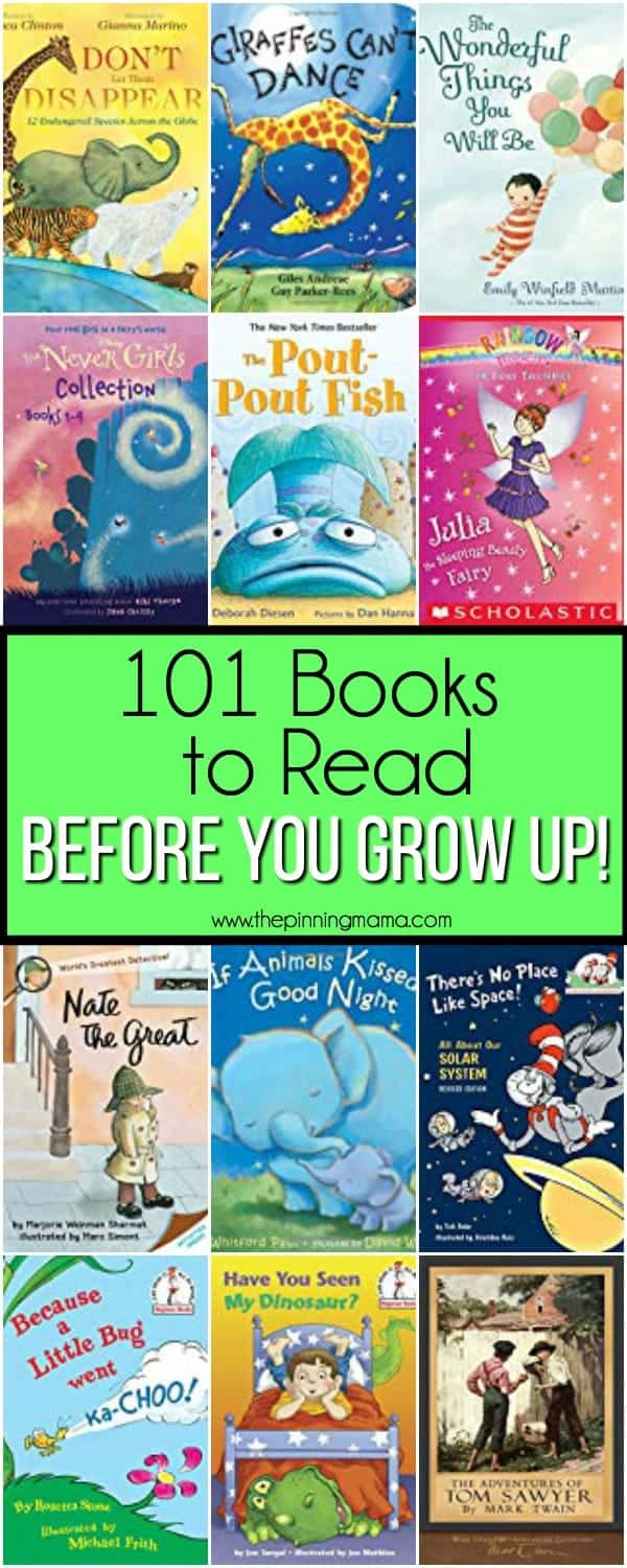 101 Books for Kids to Read.