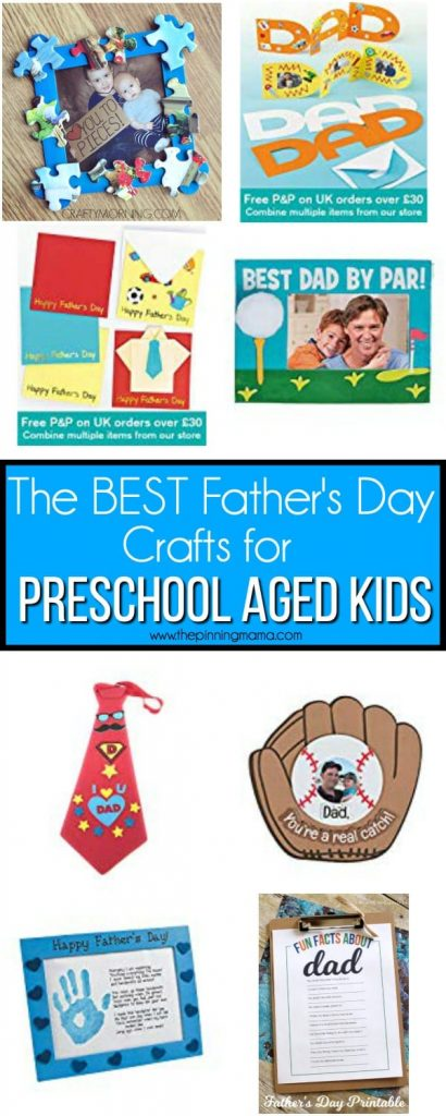 Father S Day Crafts For Preschool Aged Kids The Pinning Mama