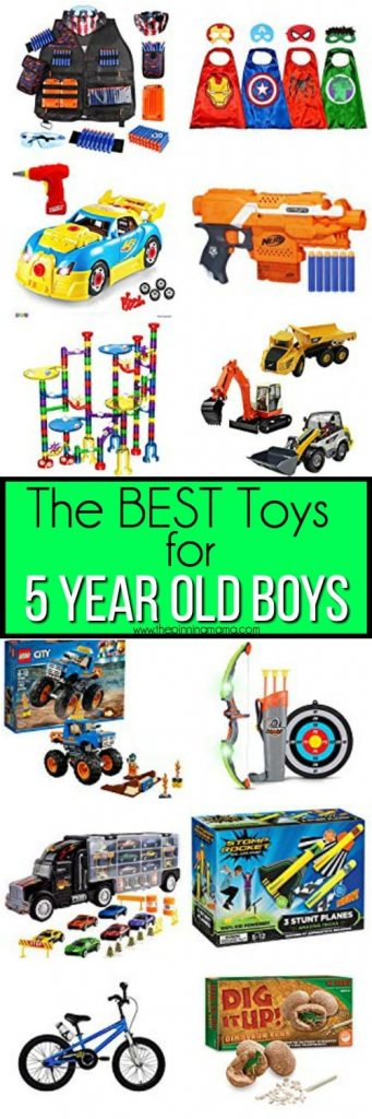 The BEST toy Ideas for 5 year old boys.