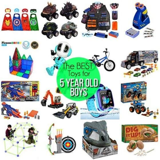 The BEST Toys for 5 year old boys.