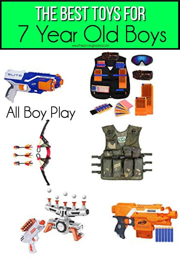 The BEST Toys for All Boy Play for 7 year old boys.