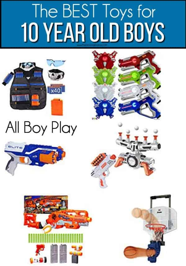 All boy play toy ideas for 10 year old boys.