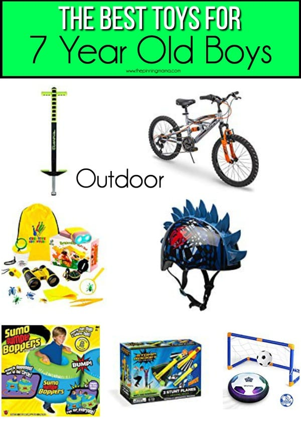 The BEST outdoor toys for 7 year old boys.