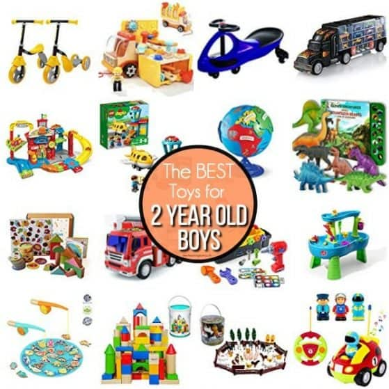The BEST Toys for 2 year old boys.