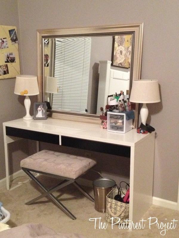 Ikea Hack - Desk Vanity Project