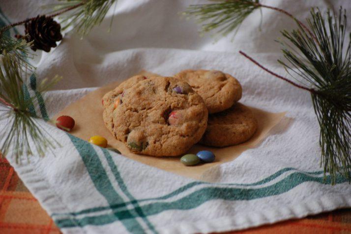 rainbow drop cookies