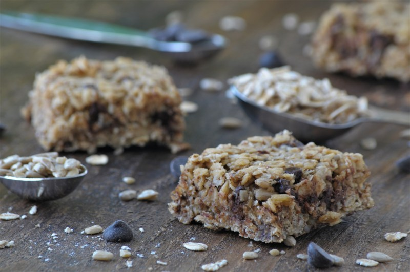 Nut-free Trail Bars- These bars are the perfect high energy bar for any occassion! They are nut-free, peanut free, and gluten free!