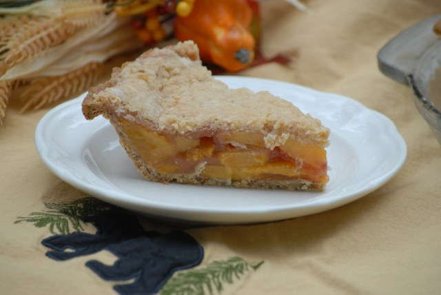 Grain-free Peach Pie- This peach pie is delicously satisfying and nutritous! It's taste will amaze you!