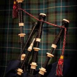 Duncan Macrae Bagpipes by Stuart Liddell SL3