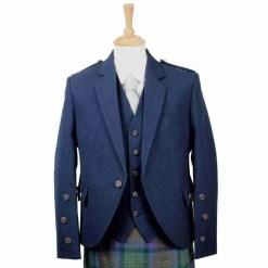 Navy Blue Arrochar Kilt Jacket