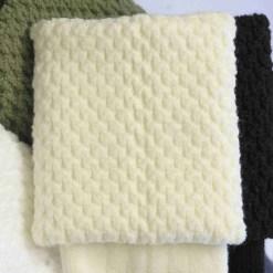 Cream Kilt Socks