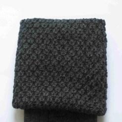 Dark Grey Kilt Socks