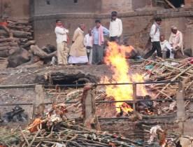 Cremazioni al Manikarnika Gath
