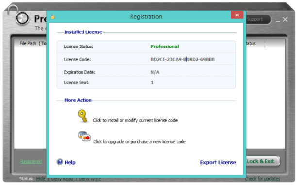 IObit Protected Folder lifetime activation license