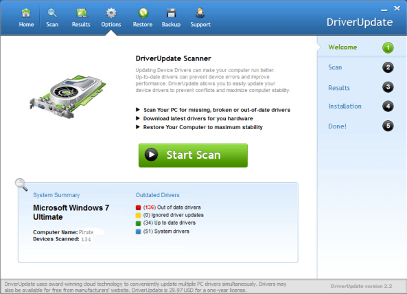 SlimWare Utilities DriverUpdate crack download