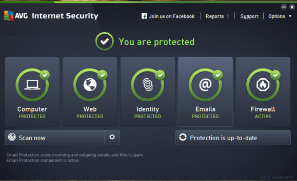 AVG Internet Security lifetime Serial Keys