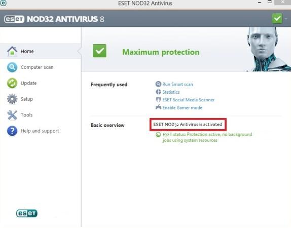 ESET NOD32® Antivirus pre - activated download