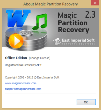 Magic Partition Recovery license code