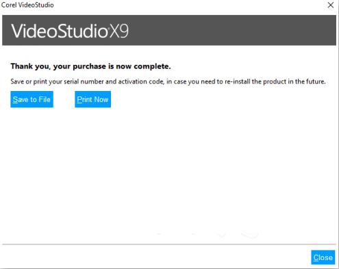 Corel VideoStudio Ultimate X9 license key