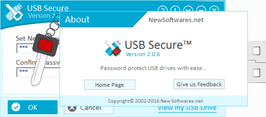 newsoftwares usb secure key