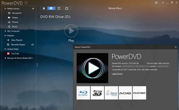 CyberLink PowerDVD crack download