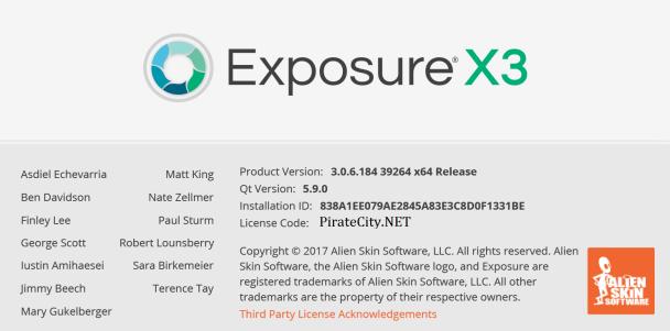 Exposure X3 crack torrent download