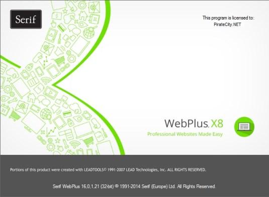 WebPlus X8 full crack torrent download