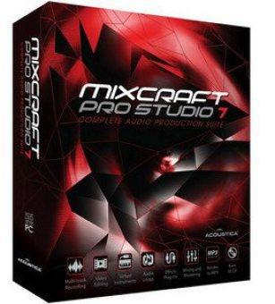 Acoustica Mixcraft Pro Studio serial key