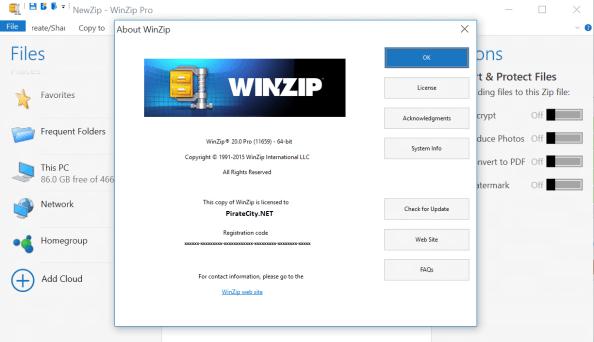 WinZip pro crack download