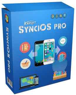 Anvsoft SynciOS Professional Serial Key for license activation
