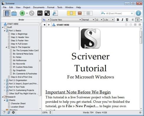 Scrivener 1.9.8 full serial key