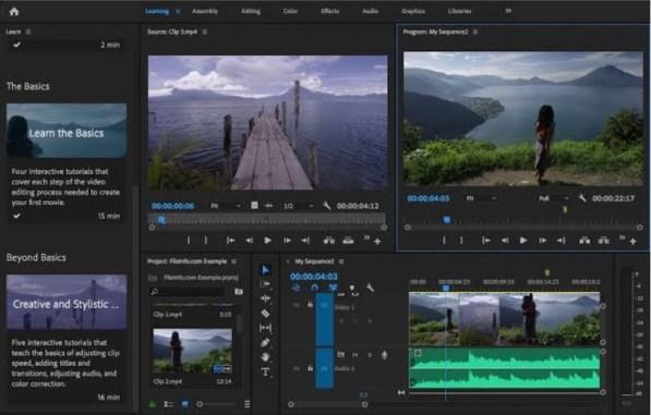 Adobe Premiere 2020 PRO free download 32-64 bit for Windows PC