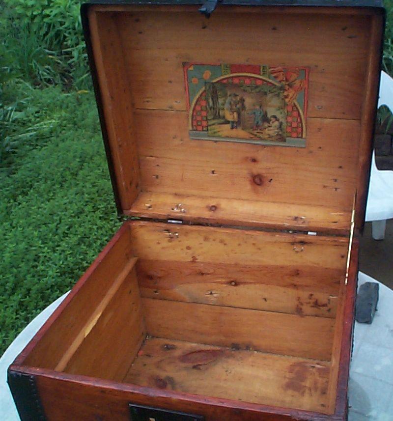 377 Restored Antique Desktop Trunks For Sale
