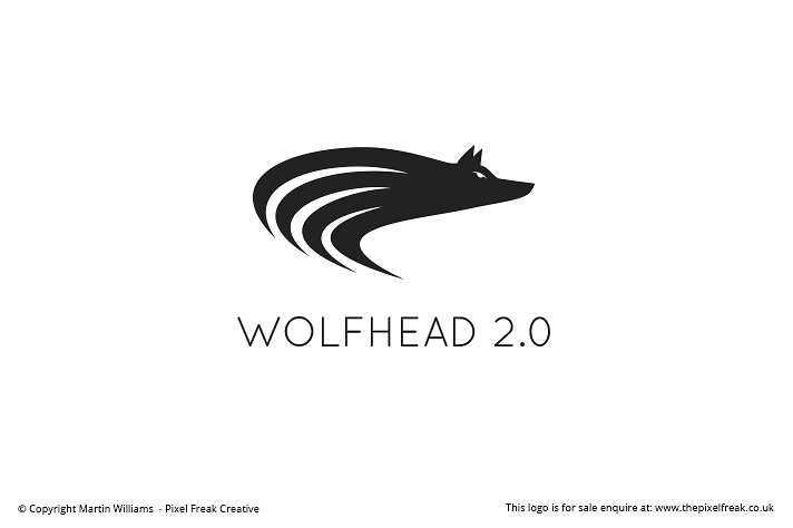 Ready Made Wolf Head Emblem