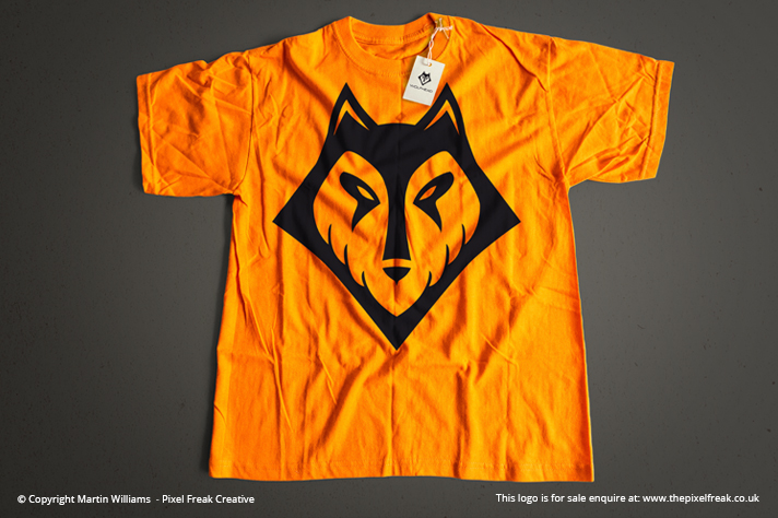 Wolf Head T-Shirt Mock-Up