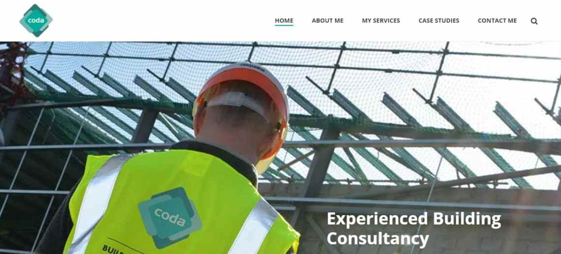 Website Design Sutton Coldfield for CODA